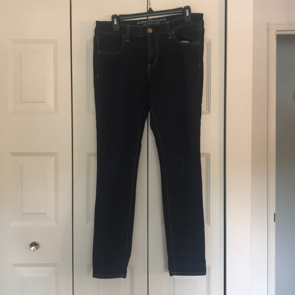 American Eagle Outfitters Denim - American Eagle Dark Wash Skinny Jeggings